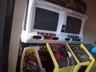 Vintage Games in Converted Shed House