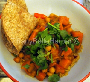 Chick Pea and Butternut Squash Curry