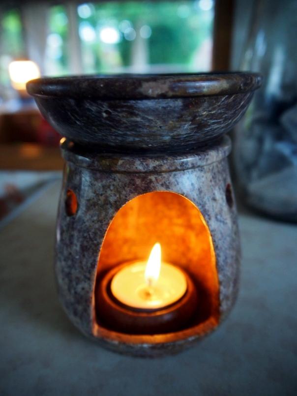 Burning Basil Oil