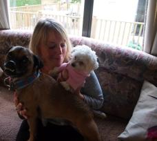 Evie's Mummy and Alan