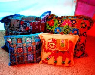 more cushions ...