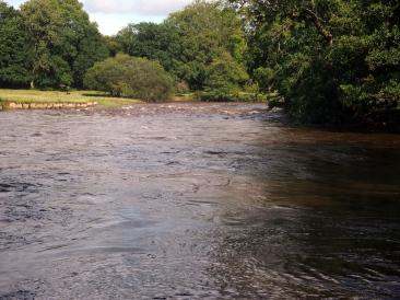 River that runs past Annona