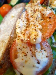 Homemade Soda Bread Salad Sandwich