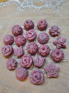 Flower Wax Melts Handmade